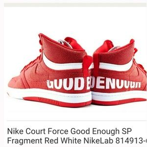 Nike Court Force Good Enough SP Fragment Red White